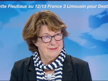 Interview 12/13 France 3 Limousin, Destiny Pierrette Fleutiaux